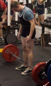 Conventional Stance Deadlift