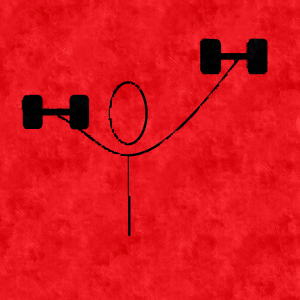 weight lifting exercises icon